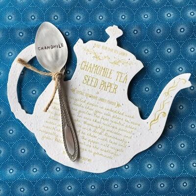 Chamomile Tea Seed Paper