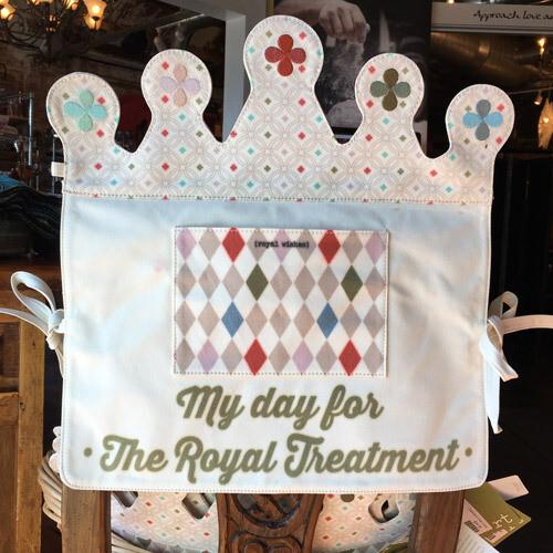 Royal Celebration Seat Back Cover