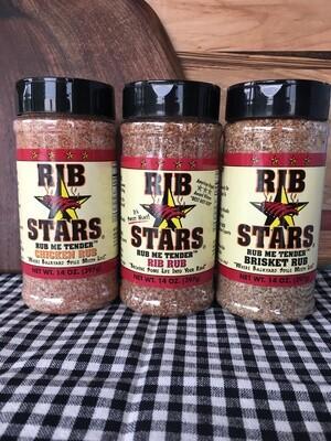 Rib Stars Rubs