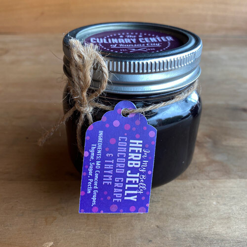 In My Belly Concord Grape Jelly w/ Thyme