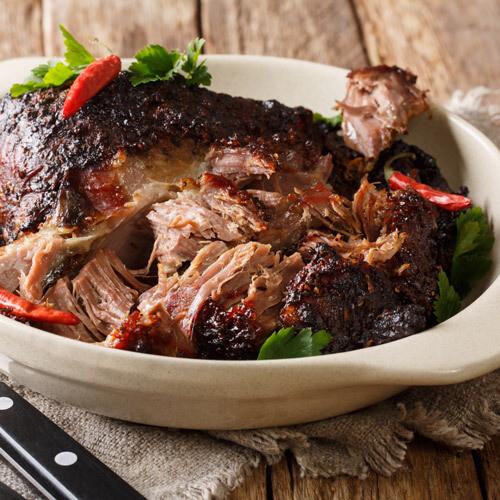 Pork Asado (Braised Pork in Chili Sauce)