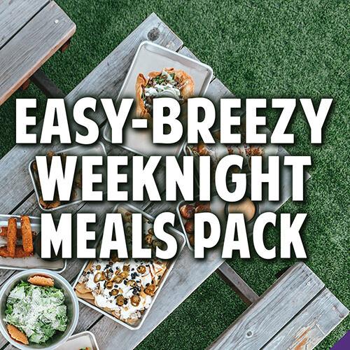 Easy-Breezy Weeknight Meals Pack