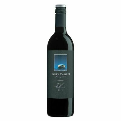 Bottle o' Wine - Happy Camper Merlot