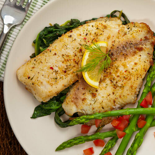 Lemon Peppered Catfish Filets