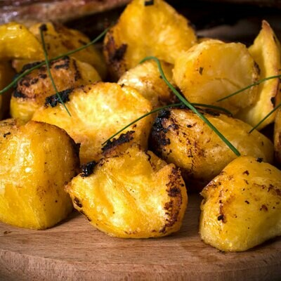 Oven Roasted New Potatoes w/ Herb Butter
