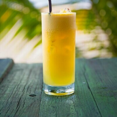 Summer Slushies: Pineapple Orange Bourbon