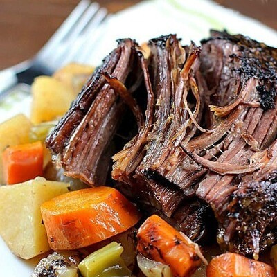 Braised Beef Roast w/ Gravy