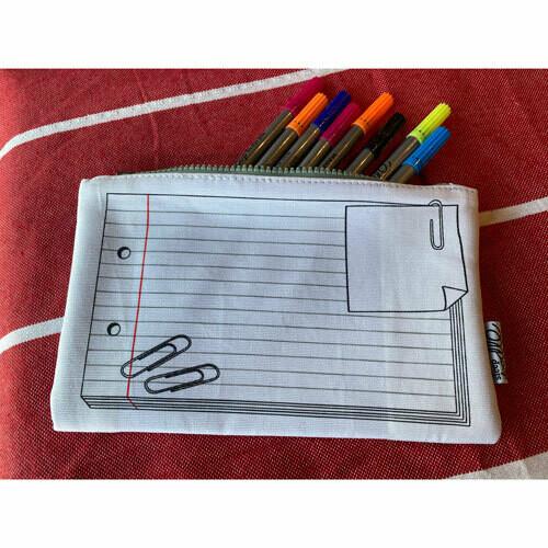 Notebook Doodle Pencil Case