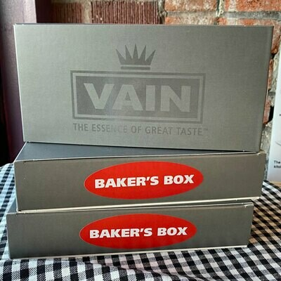 Vain Vanilla Baker's Box