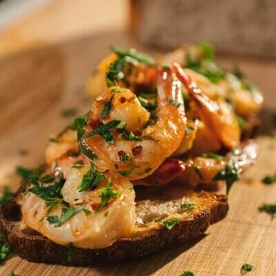 Shrimp Scampi (Appetizer, Entrée or Pasta Sauce)