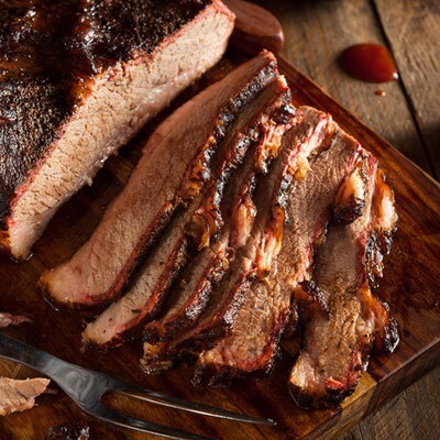 Mom's Holiday Slow-Roasted Brisket in Sweet & Spicy Sauce