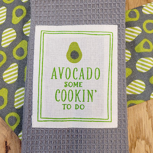 """Avocado Some Cookin' To Do'' Kitchen Boa®"