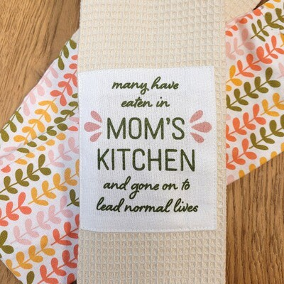 """""""Many Have Eaten In Mom's Kitchen and Gone on to Lead Normal Lives'' Kitchen Boa®"""