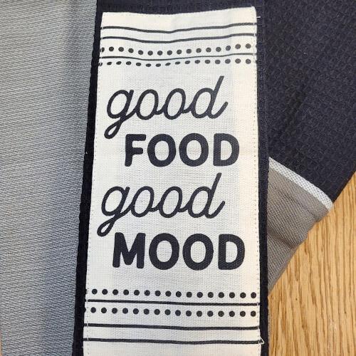 'Good Food Good Mood' Kitchen Boa®
