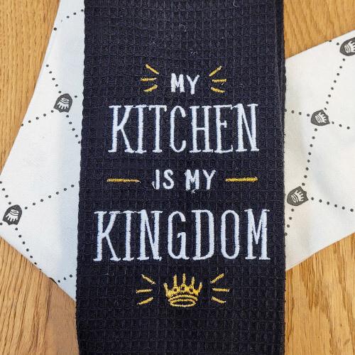 'My Kitchen Is My Kingdom' Kitchen Boa®