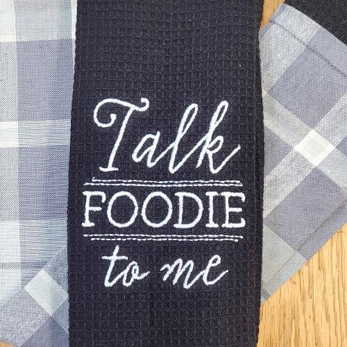 'Talk Foodie To Me' Kitchen Boa®