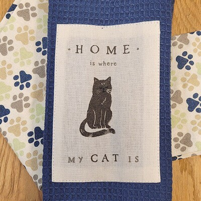'Home Is Where My Cat Is' Kitchen Boa®