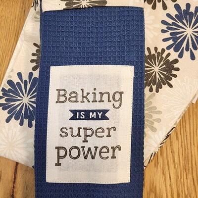 'Baking Is My Superpower' Kitchen Boa®