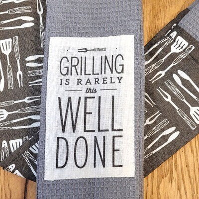 'Grilling Is Rarely This Well Done' Kitchen Boa®