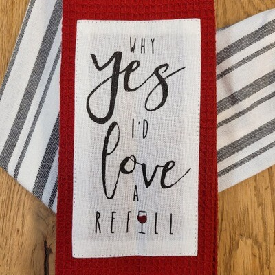 'Why Yes, I'd Love a Refill' Kitchen Boa®