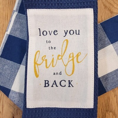 'Love You to the Fridge and Back' Kitchen Boa®