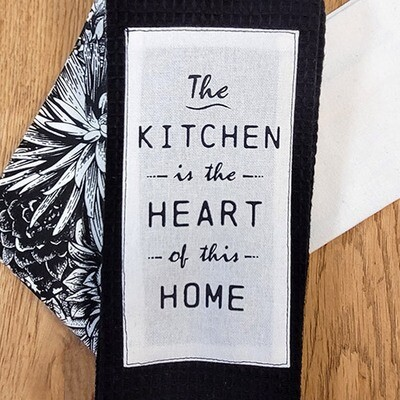 'The Kitchen is the Heart of This Home' Kitchen Boa®