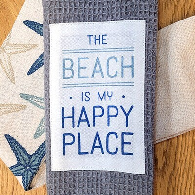 'The Beach Is My Happy Place' Kitchen Boa®
