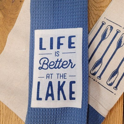'Life is Better at the Lake' Kitchen Boa®