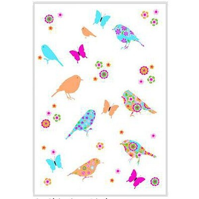 3 Birds Tea Towel by Mierco