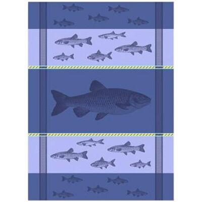 Fish Linen Tea Towel by Mierco