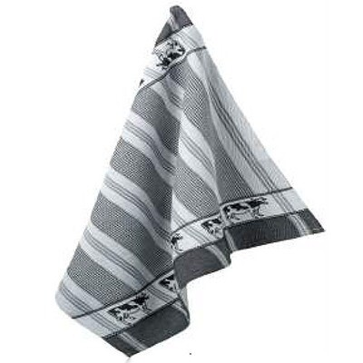 Border Cow Tea Towel by Mierco