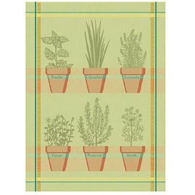 Herbs Linen Tea Towel by Mierco