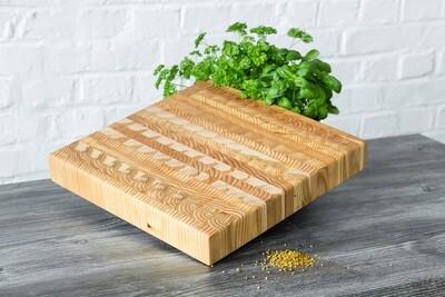Larch Wood Canada Square Cutting Board