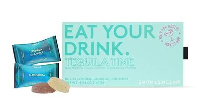 Eat Your Drink Gummies In A Box - Tequila Time Box