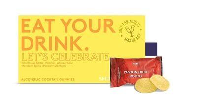 Eat Your Alcohol Gummies - Let's Celebrate