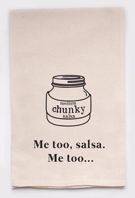 Ellembee Gift Tea Towel - Me Too Salsa