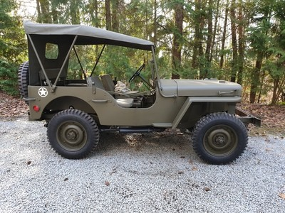 Al's Willys MB build using the MD Juan Master Kit