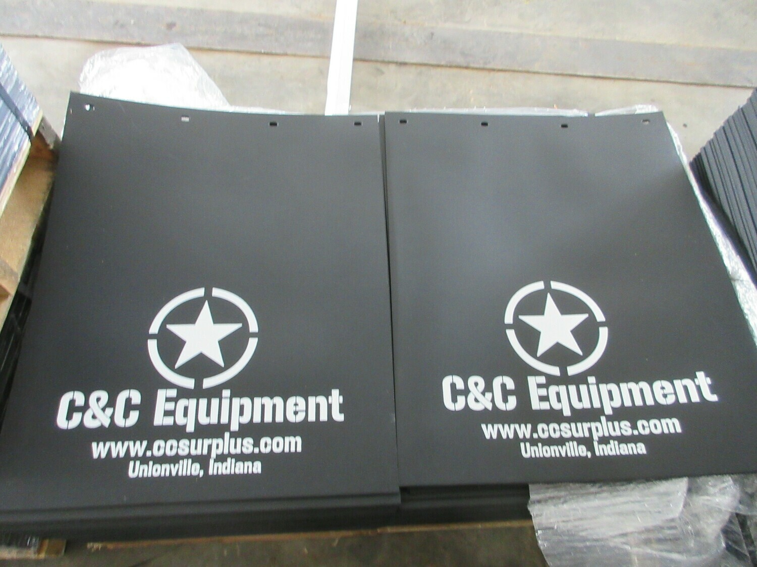 C&C Equipment Mud Flaps 24x18-24-30-36 Truck dump 5 ton M939 M813
