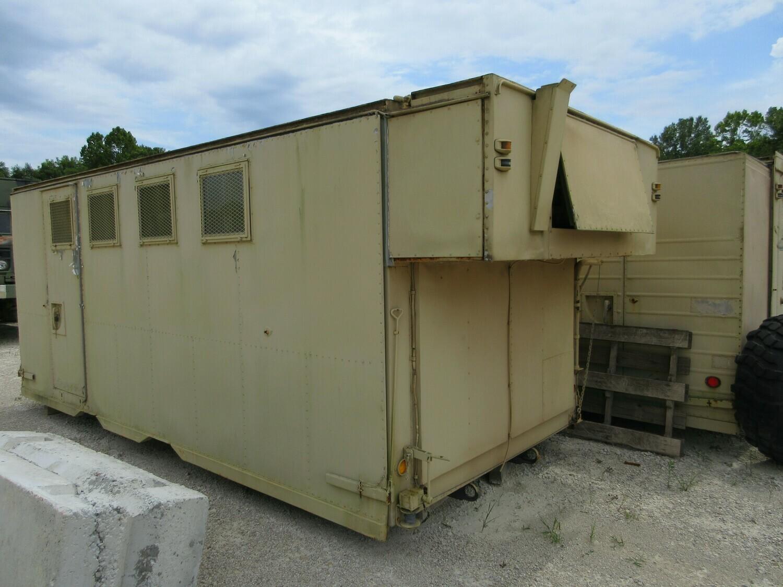 M934 A1 A2 Expandable bodys beds Communication Camper Shed storage