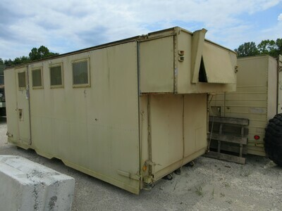 M934 A1 A2 Expandable bodys beds Communication Camper Shed storage
