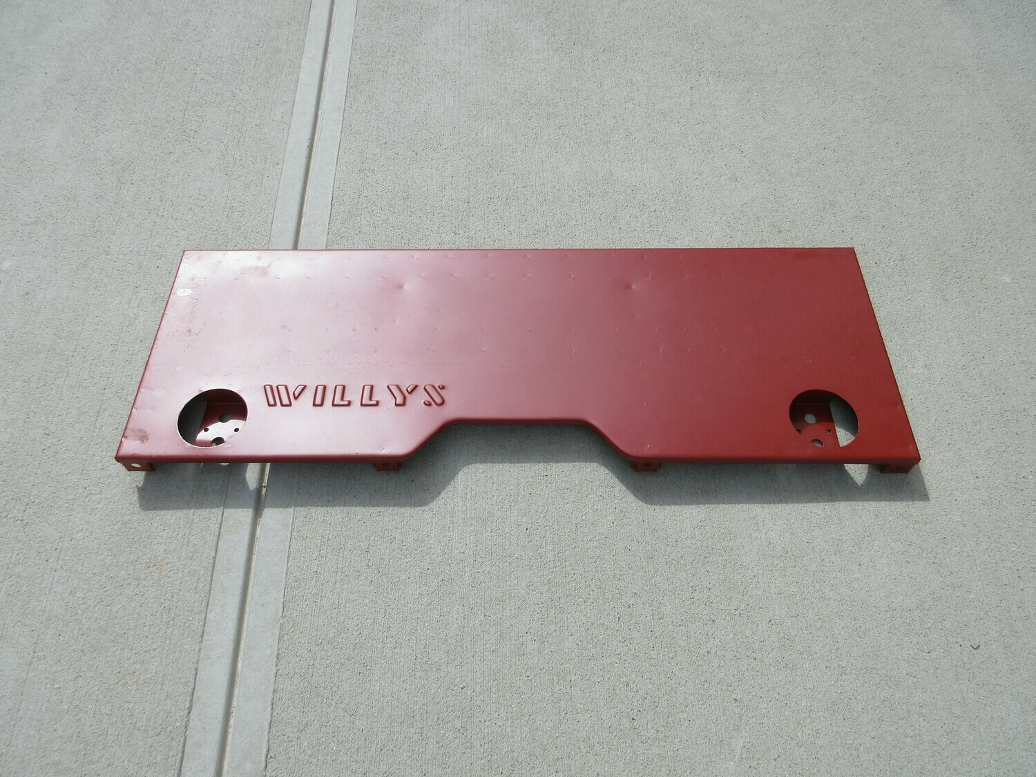 Willys MB Rear Tail Panel