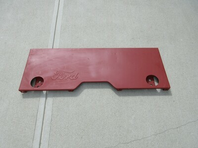 GPW Ford Script Rear Tail Panel