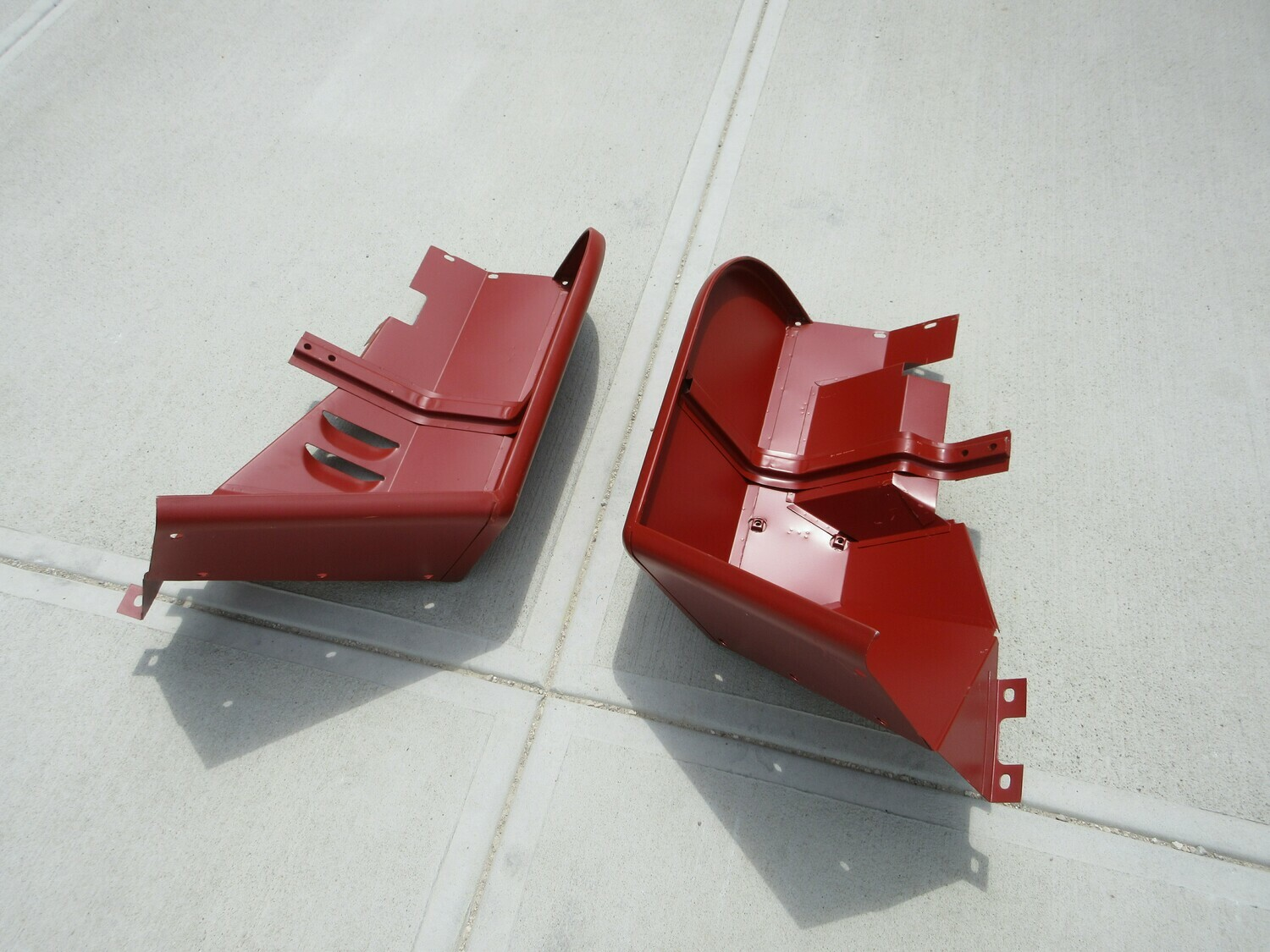 Set of Reproduction Front Fenders MB or GPW