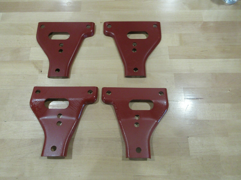 Front Bumper Gusset Kit 4 Brackets