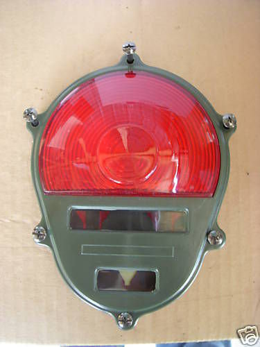 2.5 TON M35A2 M SERIES REAR TAIL LIGHT COVER ONLY