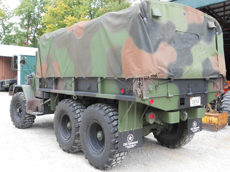 New Military spec USA made Cargo bed Camo soft top cover M35A2 M35A3 M35 2.5 ton