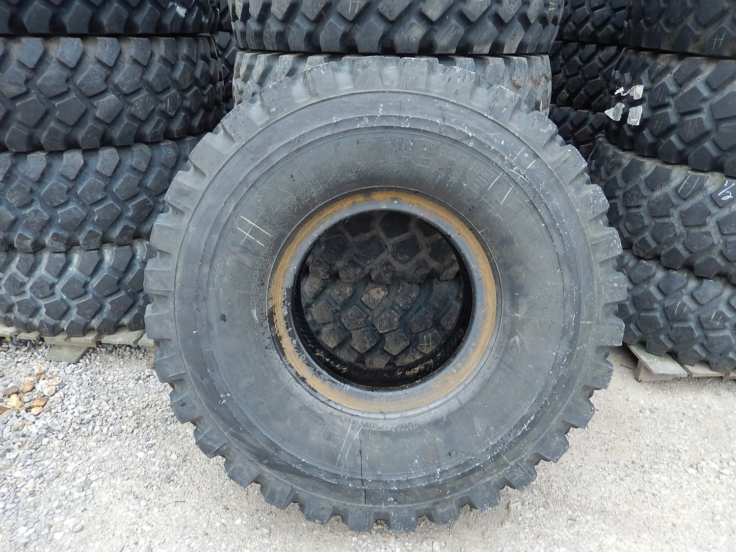 """Michelin 16.00-R20 XZL 53"""" tall tires other sizes and wheels available 85%-95% NOW IN STOCK!!!!!!!!!!!!"""