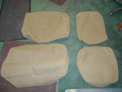 Seat Cover kit Canvas