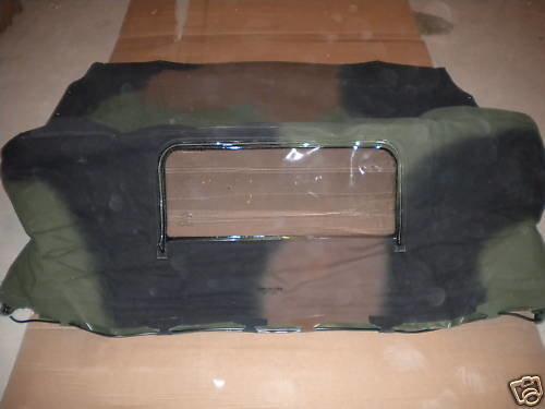New Military spec USA made camo soft top 2.5-5 ton