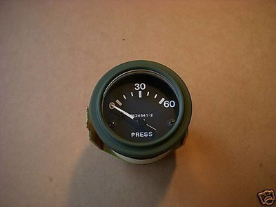 M35A2 MSERIES NEW 0-60 PSI OIL PRESSURE GAUGE MS24541-2